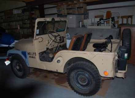 1951 Willys model M38 Jeep