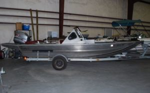 20' Scully aluminum boat with 200hp Mariner